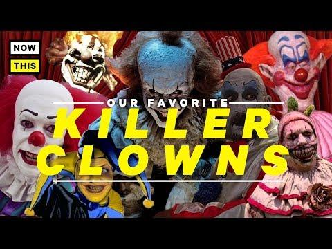 Our Favorite Killer Clowns | NowThis Nerd