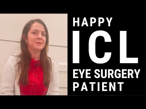 Happy ICL Eye Surgery Patient From USA, Eye7, New Delhi, India