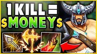 RANK 1 TRYNDAMERE: MAXIMUM KILLS FOR MONEY CHALLENGE! (1 KILL = 1 DONATION) - League of Legends