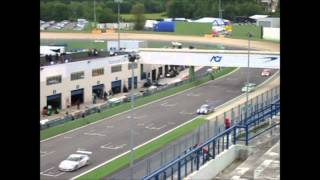 preview picture of video 'Porsche Carrera Cup Italia Autodromo Vallelunga 2012'