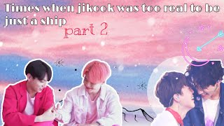 Times when Jikook was too real to be just a ship part. 2