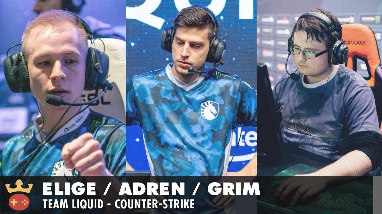 Video of Interview with EliGE, Grim, and adreN from Team Liquid at IEM Cologne 2021