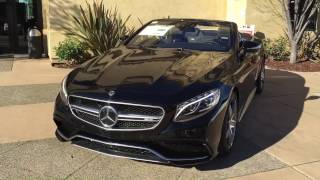 3 Minutes with the 2017 S63 AMG Cabriolet by NorCal Mercedes-Benz