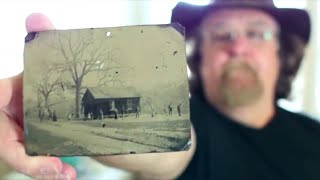 man bought a photo at  flea market for 2 bucks He couldn t imagine that he would become  millionair