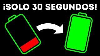 20+ Trucos para cargar la batería de tu teléfono mejor y más rápido