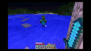 Creeper Kamikaze - Lets Play Minecraft: Out Takes