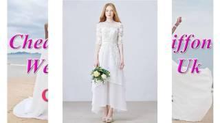 Cheap Discount Chiffon Wedding Dresses Uk