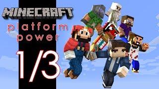 Minecraft Platform Power Mini Game - Game 1 of 3