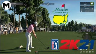 Augusta National 2020 - PGA TOUR 2K21 GAMEPLAY (The Masters)