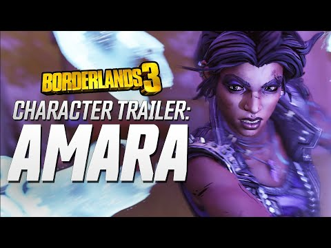 "Borderlands 3 - Amara Character Trailer: ""Looking for a Fight"" thumbnail"