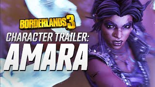 "Borderlands 3 - Amara Character Trailer: ""Looking for a Fight"""