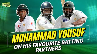 Yousuf discusses his favourite batting partners, Saeed Anwar's class and Saqlain Mushtaq's aura