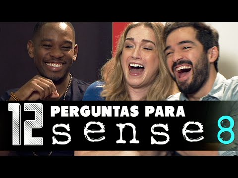 12 Perguntas para: Sense8 (ft. Alfonso Herrera, Jamie Clayton e Aml Ameen - Netflix) - Põe na Roda