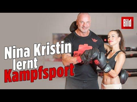 Nina Kristin: Kampftraining nach Schampus-Attacke