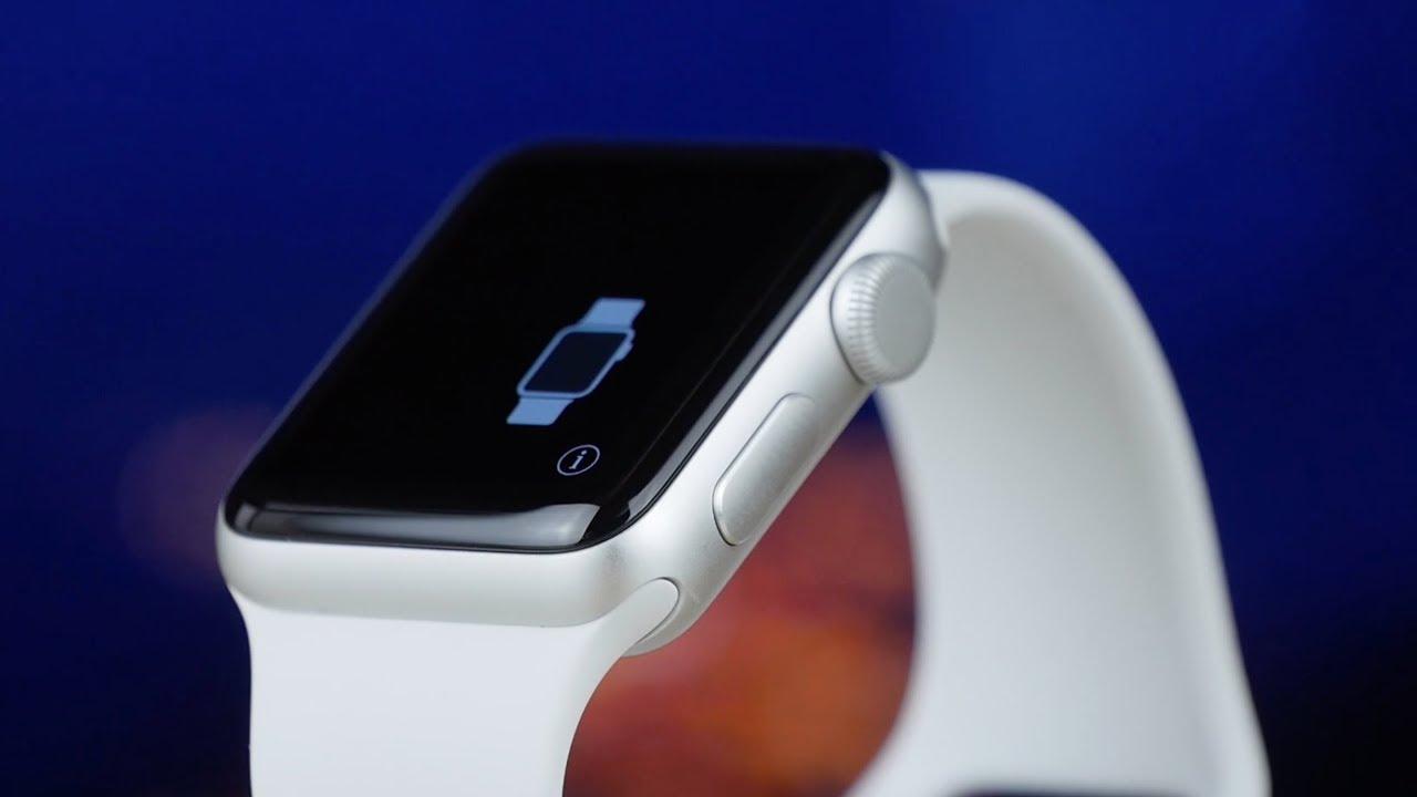 Купить Смарт-часы Apple Watch Series 3 38mm Space Gray Aluminum Case with  Black Sport Band (MQKV2FS A) по низкой цене в ... b6deb3534424e