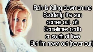 Christina Aguilera - So Emotional (Lyrics) HD