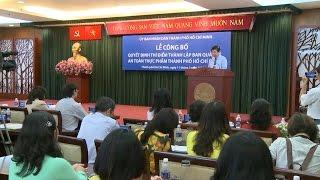 TP. Hồ Chí Minh công bố quyết định thí điểm thành lập Ban An toàn thực phẩm