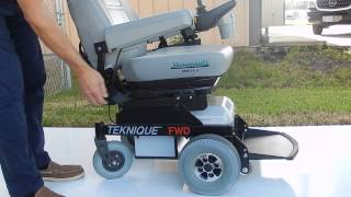 Hoveround Teknique FWD with Pan Seat 350 lb Weight Capacity by Marc's Mobility