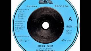 "Showaddywaddy – ""Dancin' Party"" (UK Arista) 1977"