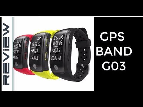 reloj deportivo impermeable GPS band GO3