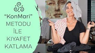 KonMari Metodu ile Kıyafet Katlama Sanatı