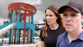 ABANDONED WATERPARK CAUGHT ON VIDEO!!