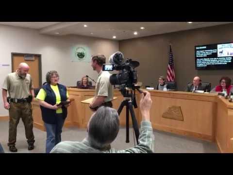 Video: Scott County Animal Shelter recognizes Ella Baldwin