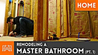 Remodeling A Master Bathroom   Part 1
