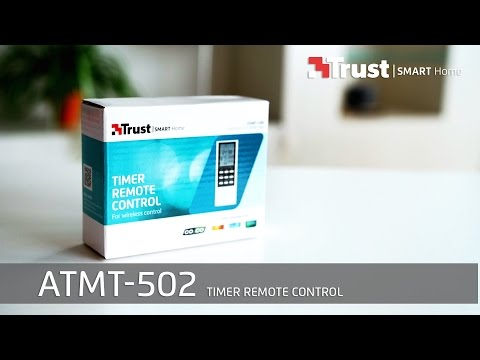 Trust Smart Home Installation ATMT-502 Timer Remote Control (PORTUGUESE)