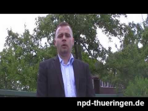 Wahlkampfauftakt der NPD Thüringen gegen Überfremdung / Juli 2009