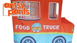 Antsy Pants Build And Play Food Truck Large Kit PLUS Felt Food Unboxing Toy Review