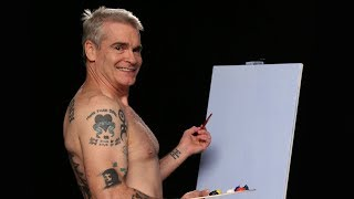 <b>Henry Rollins</b> Paints Shirtless With The Shirtless Painter