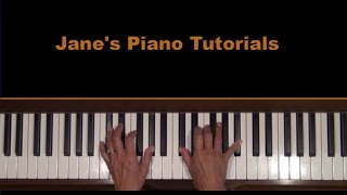 Laura By David Raksin Piano Tutorial SLOW
