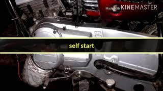 Yamaha Rx100  Self Start Bd