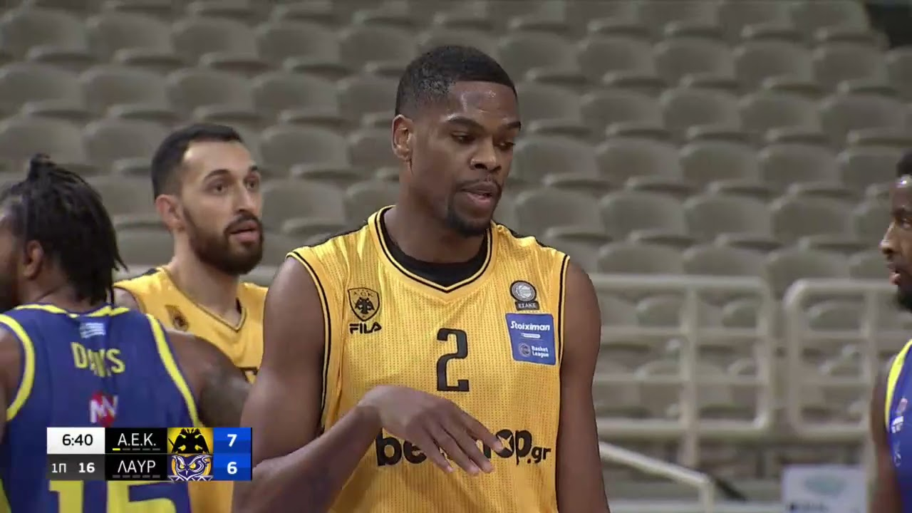 Basket League | ΑΕΚ – Λαύριο|  03/04/2021 | ΕΡΤ