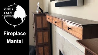 Fireplace Mantel | Woodworking
