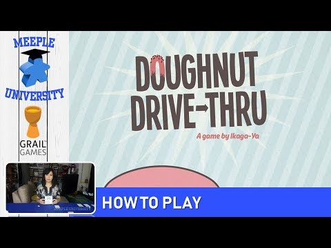 Doughnut Drive-Through Board Game – How to Play & Setup in 8 Minutes