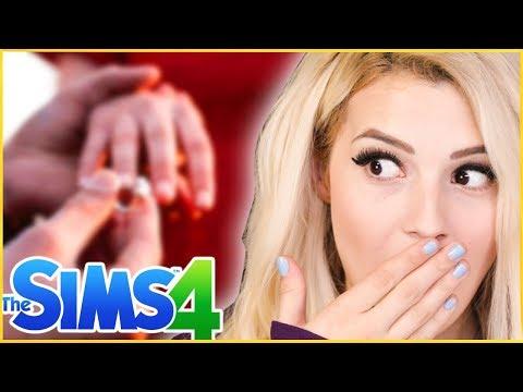 NİŞANLANDIM !! ( The Sims 4 Miras Challenge)