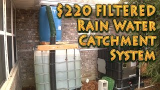 Rain Catchment System 550 Gallons - Filtered