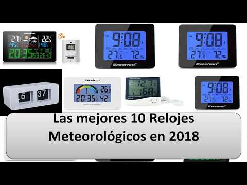 Mejor 10 Relojes Meteorológicos en 2018