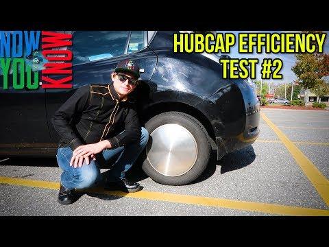 Nissan Leaf Hubcap Efficiency Test #2!