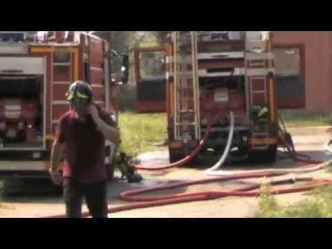 Incendio a Cocquio Trevisago