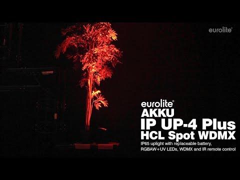 EUROLITE AKKU IP UP-4 Plus HCL Spot WDMX