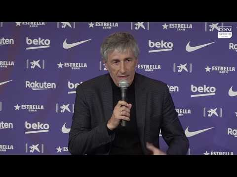 "Quique Setien: ""Yesterday I was with my cows and today I'm training the best players in the world."""