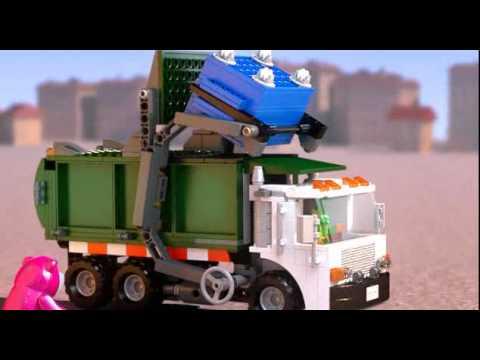 Vidéo LEGO Toy Story 7599 : L'évasion de Buzz et Jessie du camion poubelle