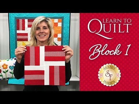 Learn to Quilt Part 2 | a Shabby Fabrics Quilting Tutorial
