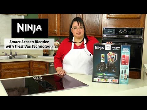 Ninja Smart Screen Blender DUO with FreshVac Technology Review ~ Vacuum Blender ~ Amy Learns to Cook