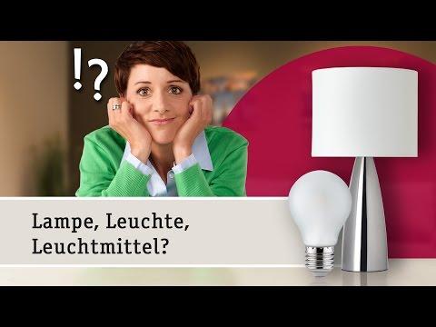 Lampen oder Leuchten – Den Unterschied einfach erklärt