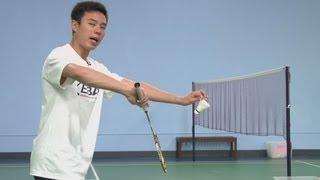 Backhand Flick Serve in Badminton : Badminton