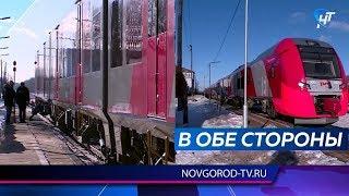 Новая «Ласточка» совершила первый рейс из Петрозаводска во Псков через Великий Новгород
